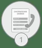 Составление заявки на обслуживание
